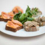 Delicious dishes at the La Veranda Restaurant in Moltrasio