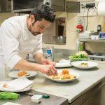 Paolo, lo chef del Ristorante La Veranda a Moltrasio