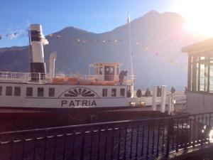 Piroscafo Patria Lago di Como