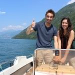 Travel Blogger Week End in barca sul #lakecomo.