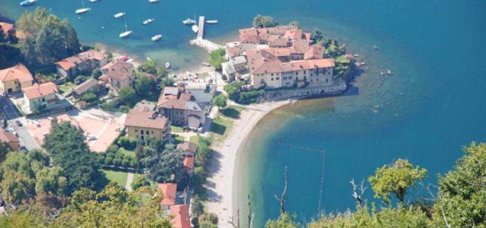 beach by Lake Como