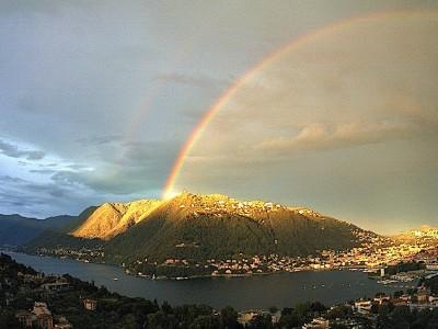 Arcobaleno sul Lago di Como