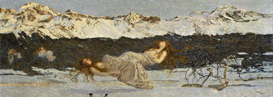 Mostra Giovanni Segantini a Caglio