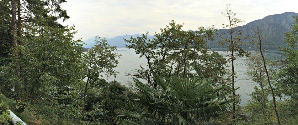 panorama bosco lago como