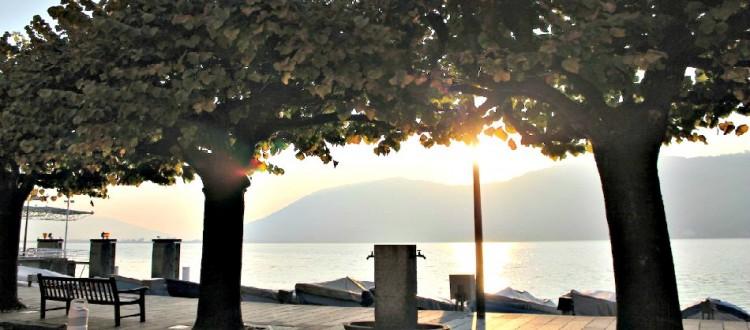Sunset Campione Italia