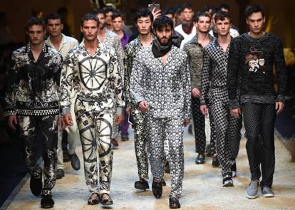 Dolce & Gabbana collezione uomo