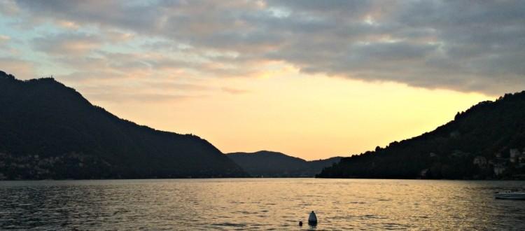 i 10 tramonti più belli sul Lago di Como