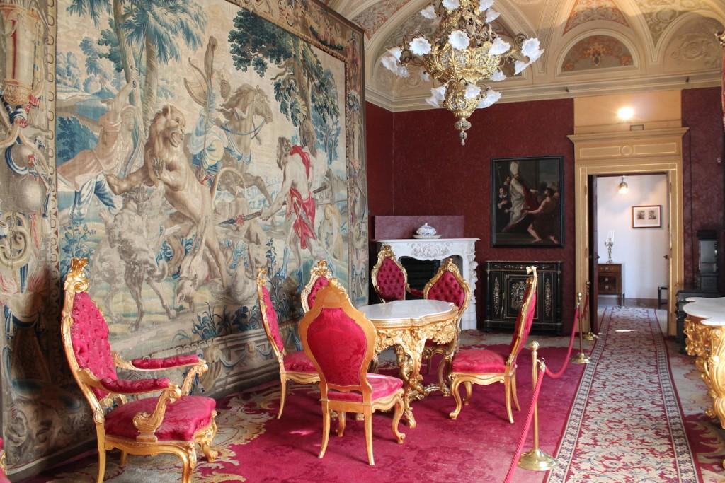 Interni Villa Monastero