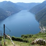 Pigra's Cable Car: live Lake Como from above