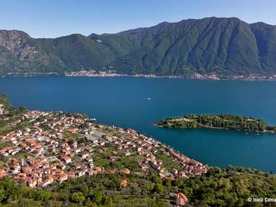Isola Comacina lake Como
