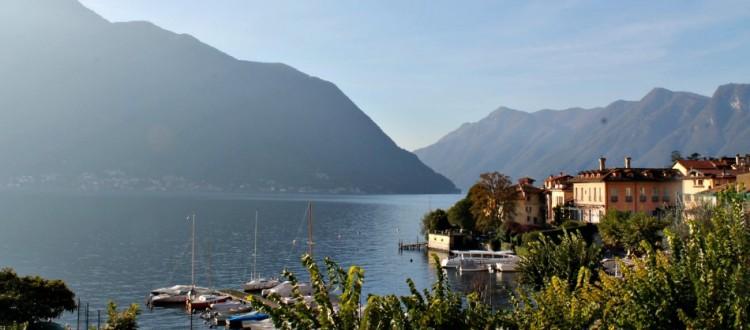 Itinerari in bicicletta su lago di Como