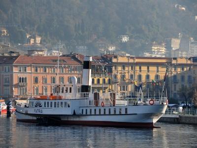 The boat Patria