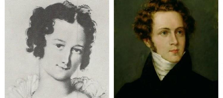 Vincenzo Bellini e Giuditta Cantù