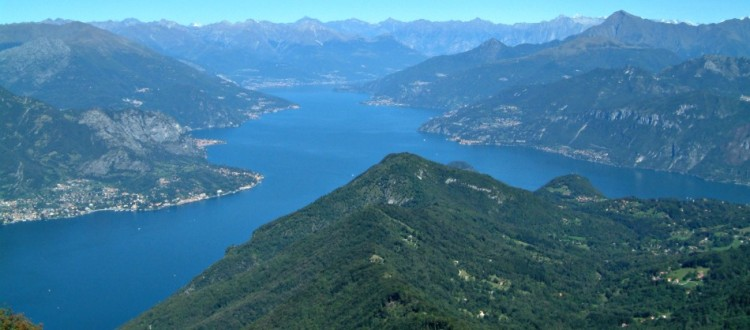 most panoramic Lake Como's points
