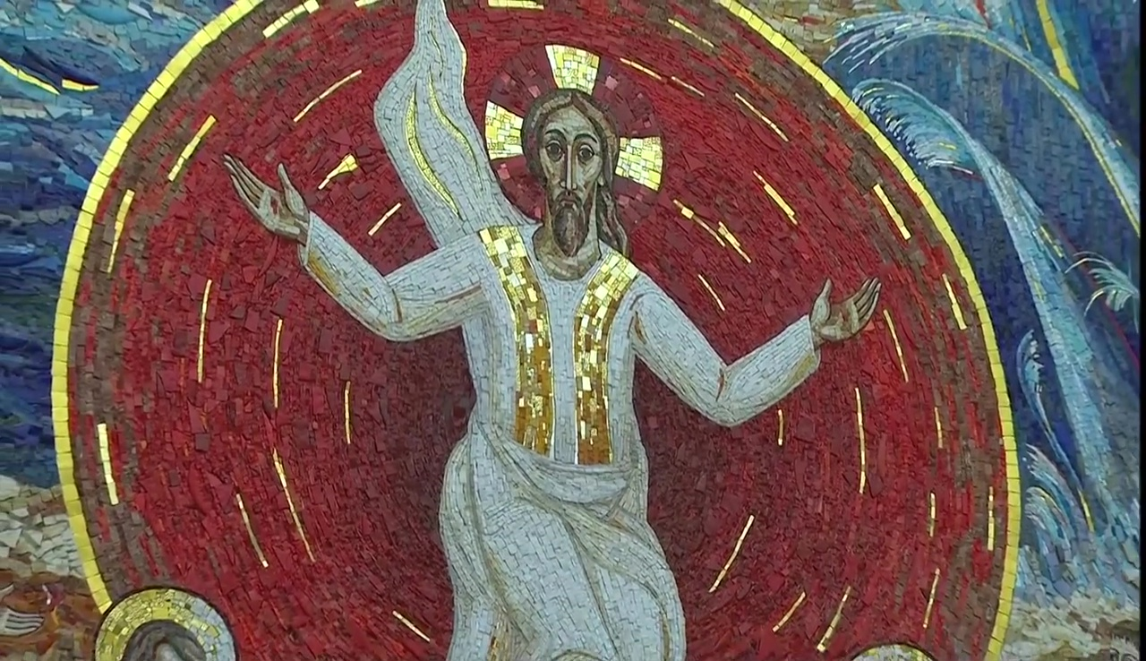 Mosaici Cappella Redemptionis Mater