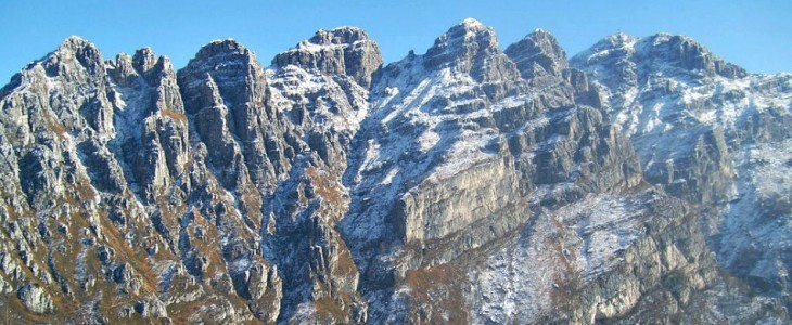 Lecco and its mountains
