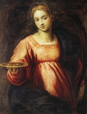 santa lucia iconografia