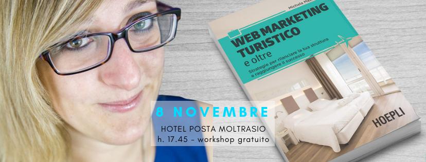 Workshop gratuito e presentazione del libro: Web Marketing turistico e oltre a Como