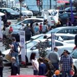 Le auto in scena a Lugano