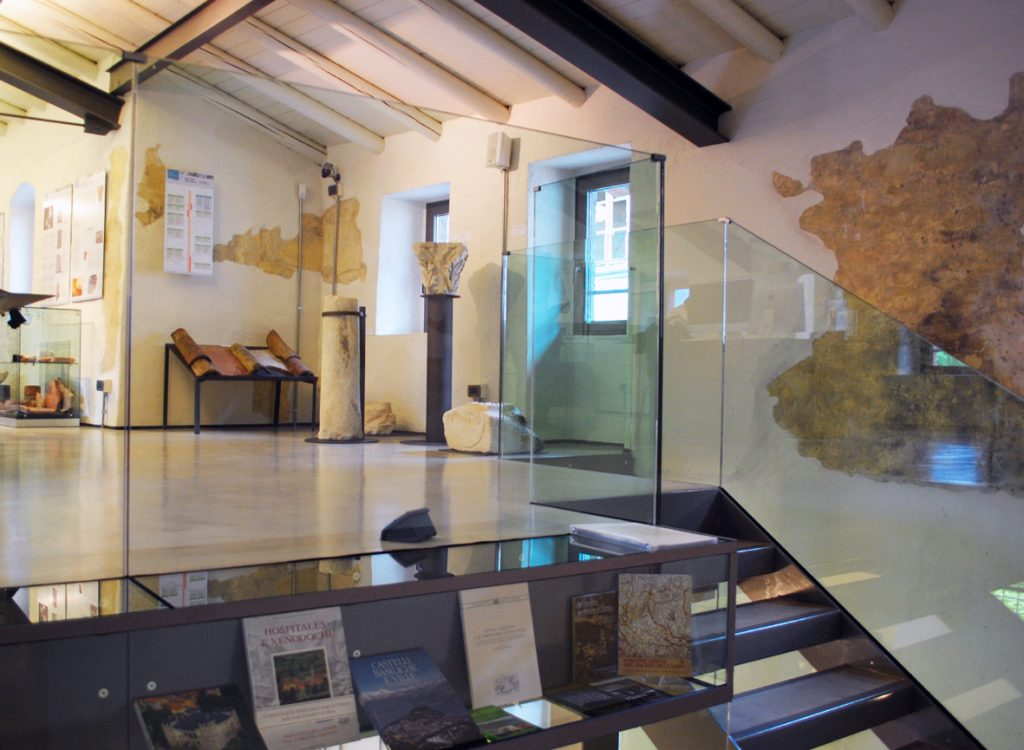 Antiquarium a Ossuccio interni