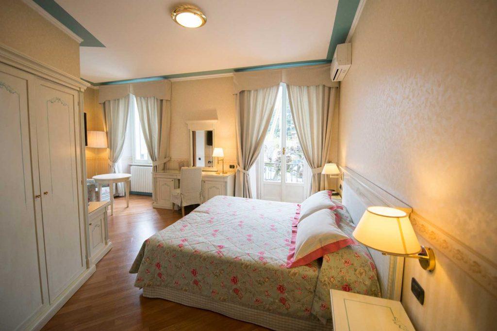 Le camere dell'Hotel Posta Moltrasio sul Lago di Como