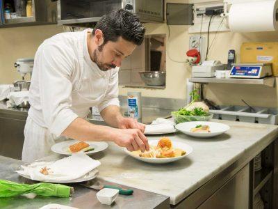 Paolo chef Ristorante sul Lago di Como