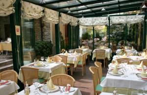 veranda ristorante lake como