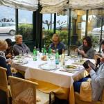Italian Food Bloggers guests at La Veranda Restaurant – Lake Como