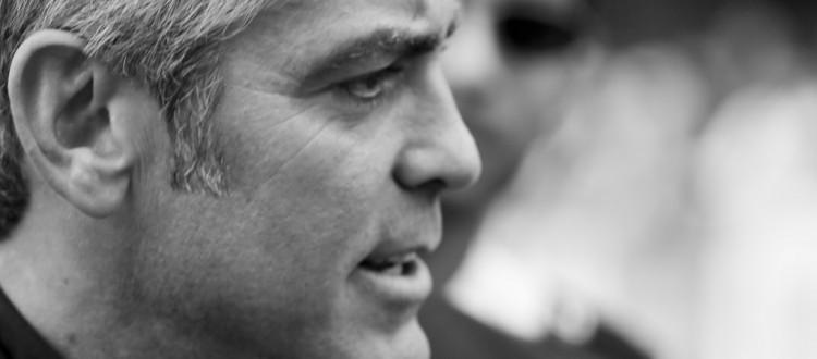 George Clooney sul Lago di Como