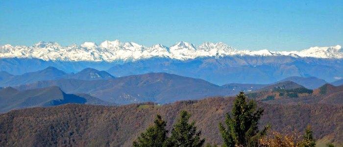 Itinerari trekking Monte Bisbino