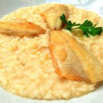 Risotto with perch: the triumph of the larian kitchen