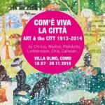 """Art in Como, """"Com'è viva la città"""" Villa Olmo and Segantini in Caglio"""