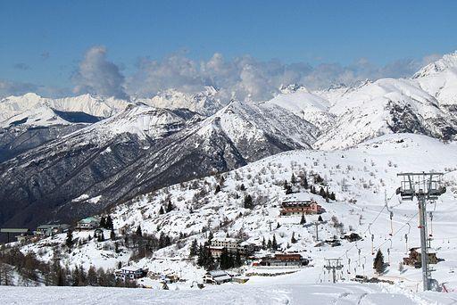 Piani di Bobbio sciare a Como