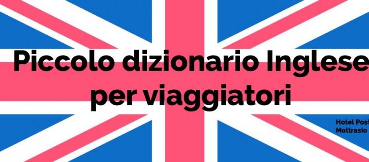 Piccolo dizionario Inglese per viaggiatori - English Flag