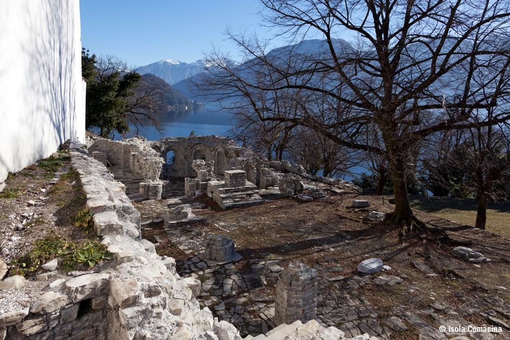 Isola Comacina isola sul lago di Como