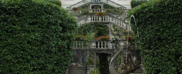andare a villa carlotta da hotel posta moltrasio Como