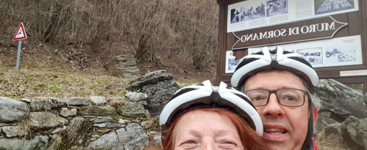 bike ride Como Lake